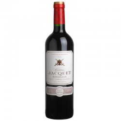 Chateau JACQUET Bordeaux 2015 raudonasis vynas, Prancūzija
