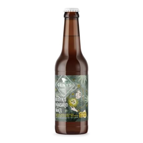 """24 bt. alaus Genys """"Nuotykis pavasario naktį"""" Baltic Pale Ale"""