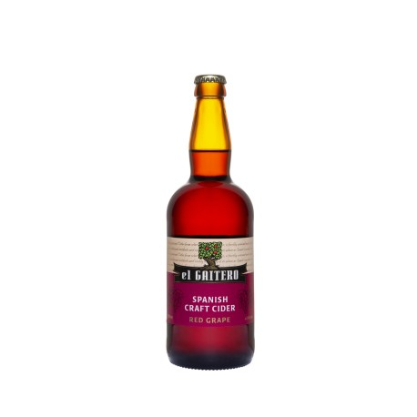 6 bt. EL GAITERO RED GRAPE Sidras 0,5L