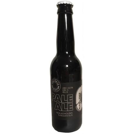 12 bt. alaus Alco free Pale Ale, Sakiškių alus, Lietuva