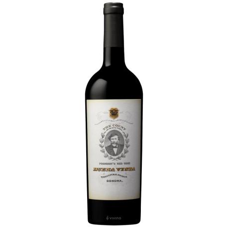 THE COUNT  Founder's Red Wine, BUENA VISTA 2013, Sonoma California USA