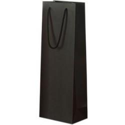 Juodas maišelis 1-am buteliui vyno