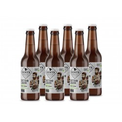 """6 bt. alaus Genys """"Organic Tattoo Lager"""" Pale Lager"""