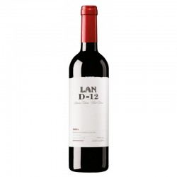 LAN D-12 red D.O.C. 2012 Rioja Spain